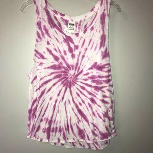 PINK Victoria's Secret Tie Dye Tank